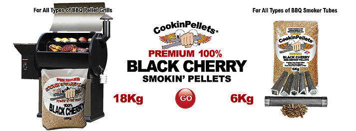 Premium 100% Black Cherry - BBQ Smokin' CookinPellets®