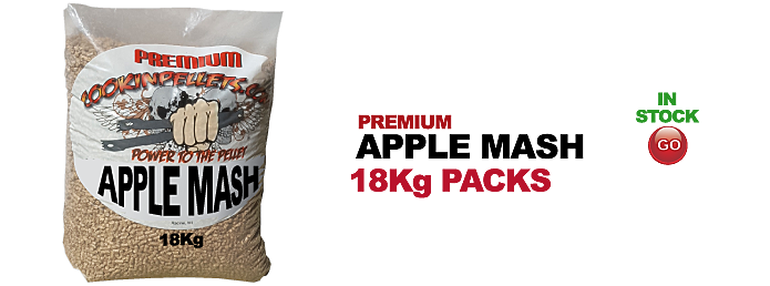 18Kg BBQ Smokin CookinPellets® Premium Apple Mash