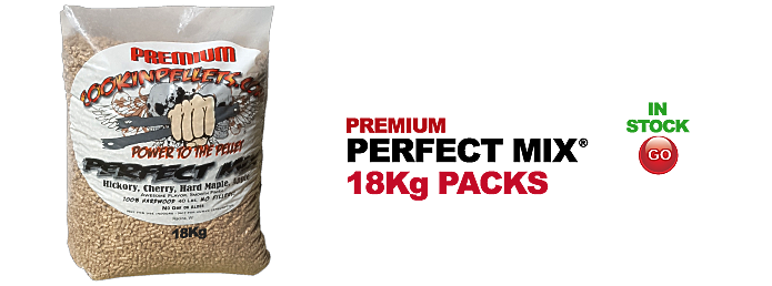 18Kg BBQ Smokin CookinPellets® Premium Perfect Mix®